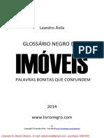 Glossario Negro Dos Imoveis