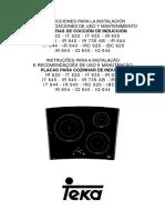 Teka Manual IR 640