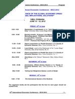IECS 2012 Final Program