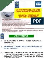 LA ESTRUCTURA DE ALTO NIVEL DE LAS NORMAS DE GESTIÓN ISO LAS NUEVAS VERSIONES DE ISO 14001 Y OHSAS 18001(1).pdf