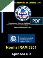 IRAM 3801 Evaluación de Riesgos Aplicada a La P.C.