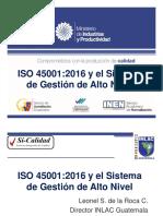 ISO 45001_2016 y El Sistema de Gestión de Alto Nivel(1)