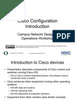 Cisco Config Additional