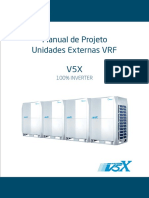 Midea - Manual de Projeto Unidades Externas VRF