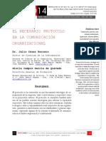 Icono14. A8/V2. El necesario protocolo en la comunicación organizacional