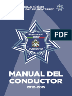 Manual Del Conductor de Transito 2015