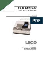 BG-30 Instruction Manual August 2009 200-541