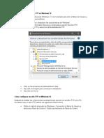 Cómo Activar Un Servidor FTP en Windows 10