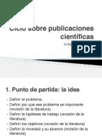 El Ciclo Sobre Las Publicaciones Científicas