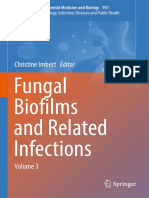 (Advances in Experimental Medicine and Biology 931) Christine Imbert (Eds.)-Fungal Biofilms and Related Infections_ Advances in Microbiology, Infectious Diseases and Public Health Volume 3-Springer In