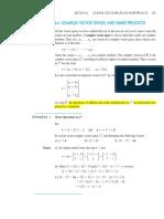 Complex Vectors