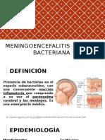 Meningoencefalitis bacteriana
