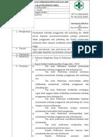 8.1.2.8 Pemantauan Terhadap Penggunaan Apd