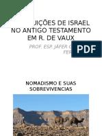 Instituições de Israel No Antigo Testamento Em r