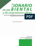 Diccionario Ambiental y de Asignaturas Afines
