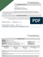 a clarke unit 4 declaration and assessment form