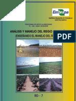 Análisis y Manejo de Riego a Presión Archivo PDF