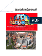 Cervecería Centro Americana S.a.