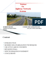Civil Highway Network System Ppt