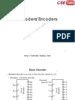 Decoders Encoders