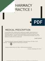 Medical Presipitation