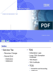 Tax Concepts Service Tax RC and TDS