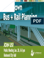 City of Redmond - Downtown Station Presentation
