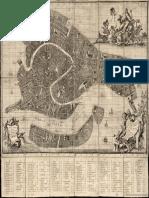 Mapa Nuova Pianta Dell'Inclita Cittá Di Venezia Regolata l'Anno 1787 [Material Cartográfico]