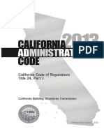 California Title 24, Part 1 Administrative Code 264pp 6x9trade