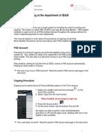 11 01 Printing and Copying at IEIS