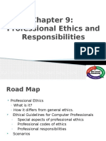 Chapter 9 Professional Ethics and Responsibilities