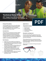 Goggle Gear 500 Datasheet