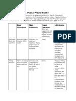 poseysplan-a-projectrubric