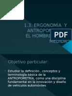 1.3. Ergonomia y Antropometria