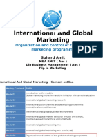 Week 08 Organization and Control of Marketing Programme 58451efb35866