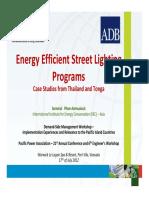 5. DSM Workshop EE Street Lighting Programs_Sommai Phon-Amnuaisuk_July2012