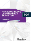 BNEF Financing Indias Clean Energy Transition