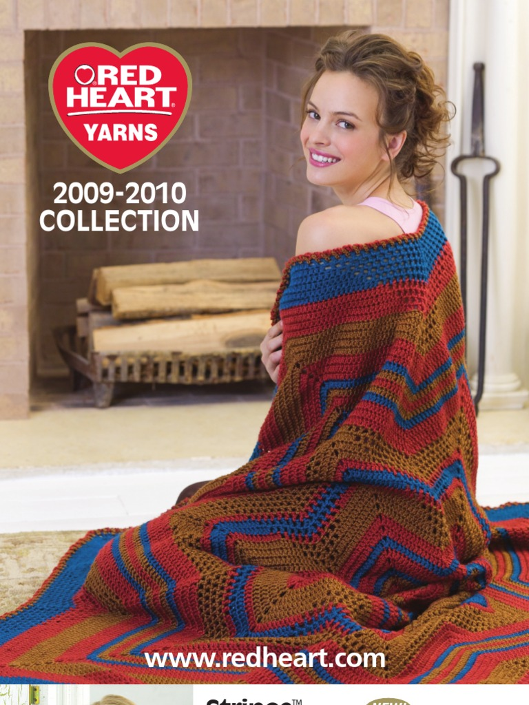 Red Heart Yarns 2009 2010 Collection Knitting 3 2k Views