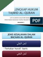 Himpunan Tajuk Tajwid Kelas Tfd Part 1