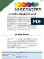 The Representative - Issue 1