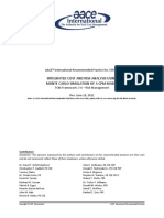 INTEGRATED COST AND RISK ANALYSIS USING MONTE CARLO SIMULATION OF A CPM MODEL