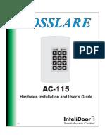AC-115 Hardware Instruction Manual 10-02