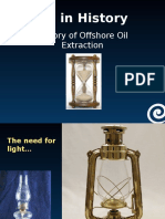 History of Offshore Oil Extraction