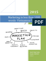 Marketing in Less Than 1000 Words VnVersion TuongNM