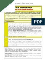 A convicção do Autor da Sentença assente em 12 falsidades - TRIBUNAL JUDICIAL DE CASTELO BRANCO
