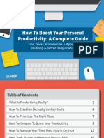 Personal Productivity eBook