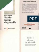 Roy Gutman_Bosnie_témoin Du Génocide