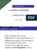 Presentation Integration-Francisco Chamera