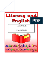 Literacy and English 2