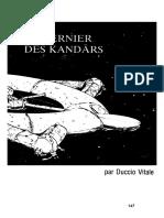 Empire Galactique 2 - Scénario - Le dernier des Kandars